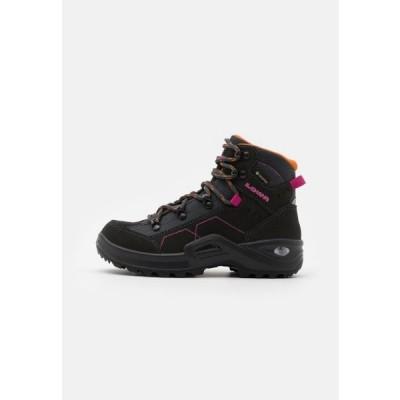 ローバー キッズ 靴 シューズ KODY III GTX MID JUNIOR UNISEX - Hiking shoes - anthracite