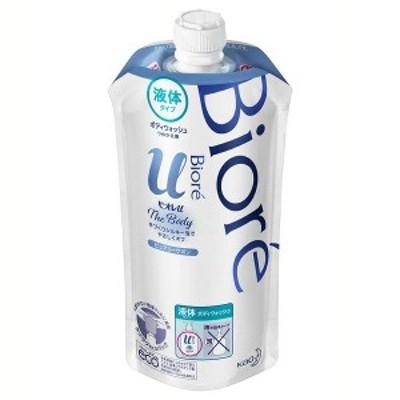 ビオレu ザボディ 液体タイプ ピュアリーサボン つめかえ用 340ml 花王株式会社 ボディウォッシュ ボディソープ ボディシャンプー 弱酸性