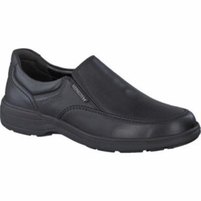 メフィスト スリッポン・フラット Davy Waterproof Slip-On Black Leather