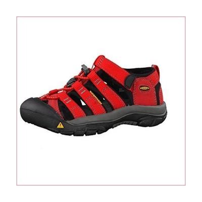 KEEN Big Kid (8-12 Years) Newport H2 Ribbon Red/gargoyle Sandal - 7 Big Kid M(並行輸入品)