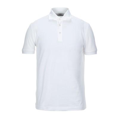DELLA CIANA ポロシャツ ホワイト 50 コットン 100% ポロシャツ