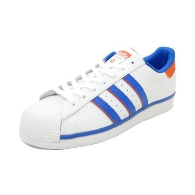 スニーカー アディダス adidas スーパースター ライバルリー フットウェアホワイト/ブルー/オレンジ FV2807 メンズ シューズ 靴 20Q1