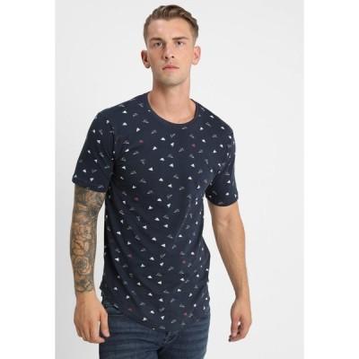 オンリーアンドサンズ Tシャツ メンズ トップス ONSGENE TEE - Print T-shirt - blue nights