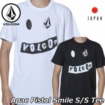 volcom ボルコム tシャツ Apac Pistol Smile S/S Tee  メンズ Japan半袖 AF5119G1 【返品種別OUTLET】