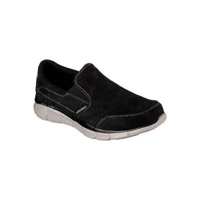 カジュアル スケッチャーズ SKECHERS USA Inc 51503 Skechers スポーツ メンズ Equalizer Popular Demand Slip-On Black Suede