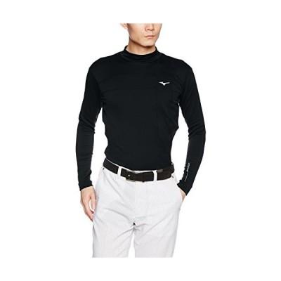 [ミズノ] ゴルフウェア インナーウェア バイオネクスト ブレスサーモ<発熱素材> ハイネック 長袖 ストレッチ 52M