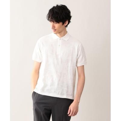 【マッキントッシュ フィロソフィー】 リンクスカモフラ ポロシャツ メンズ ホワイト 38 MACKINTOSH PHILOSOPHY