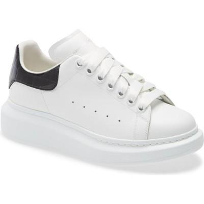 アレキサンダー マックイーン ALEXANDER MCQUEEN レディース スニーカー シューズ・靴 Platform Sneaker White/Black