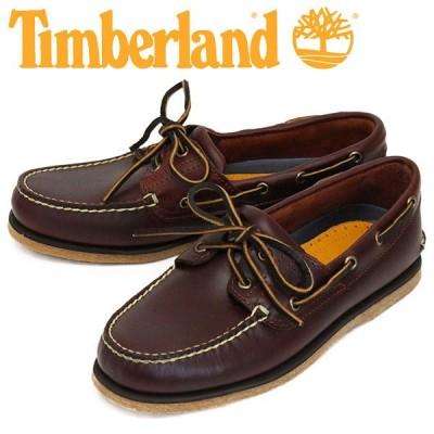 Timberland (ティンバーランド) 25077 CLASSIC BOAT 2EYE クラシック ボート 2アイ デッキシューズ Medium Brown Full Grain TB179
