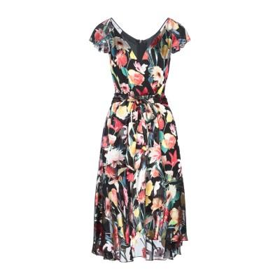ELIE TAHARI ミニワンピース&ドレス ブラック 2 レーヨン 54% / シルク 46% ミニワンピース&ドレス