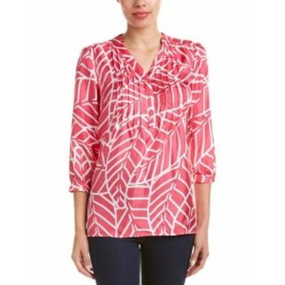 ファッション トップス Elizabeth Mckay Silk Top 0 Pink