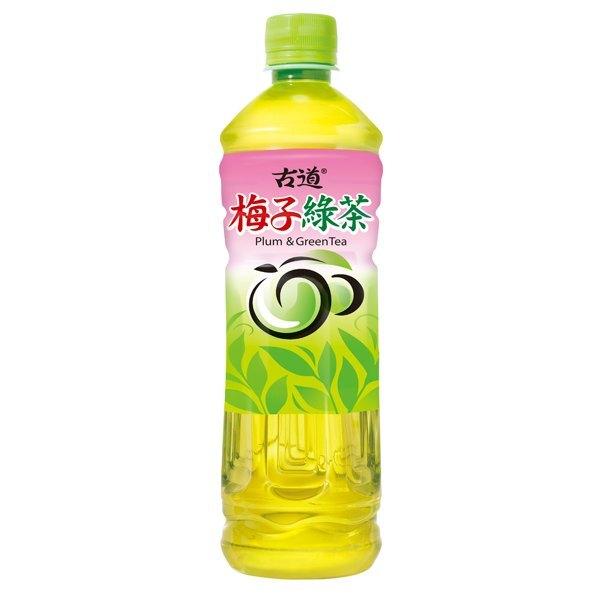 古道 梅子綠茶 600ml (24入)x2箱【康鄰超市】