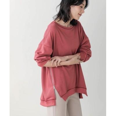Bou Jeloud / サイドジッププルオーバー WOMEN トップス > Tシャツ/カットソー