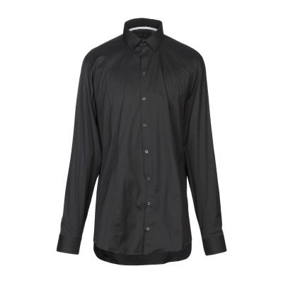 パトリツィア ペペ PATRIZIA PEPE シャツ ブラック 50 コットン 67% / ナイロン 27% / ポリウレタン 6% シャツ