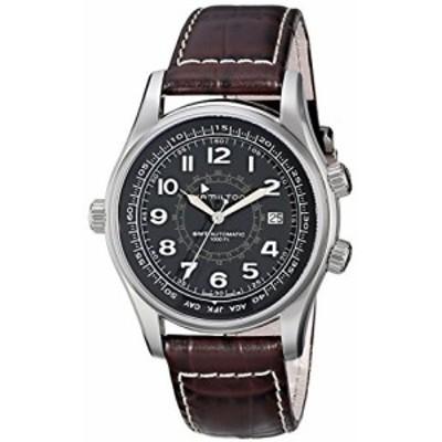Hamilton ハミルトン メンズ 時計 腕時計 Mens H77505535 Khaki Navi UTC Automatic Watch