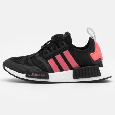 アディダス メンズ 靴 シューズ NMD_R1 BOOST SPORTS INSPIRED SHOES UNISEX - Trainers - core black/signal pink/footwear white
