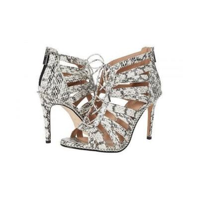 BCBGeneration ビーシービーゲネレーション レディース 女性用 シューズ 靴 ヒール Jabia - Bright White/Snake
