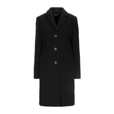 CARACTÈRE コート ブラック 46 ウール 77% / ナイロン 20% / カシミヤ 3% コート