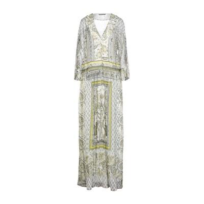 アルベルタ フェレッティ ALBERTA FERRETTI ロングワンピース&ドレス グリーン 40 シルク 100% ロングワンピース&ドレス