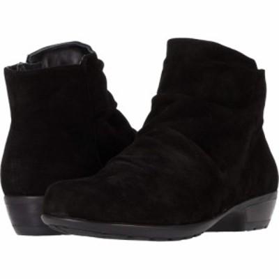 ウォーキング クレードル Walking Cradles レディース シューズ・靴 Esme Black Suede