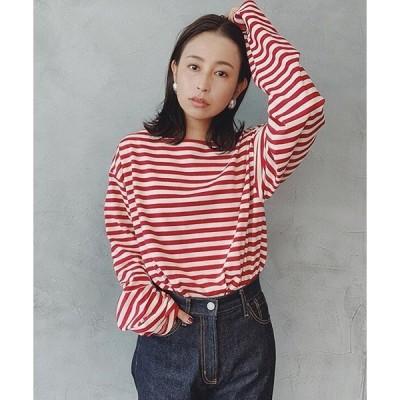 tシャツ Tシャツ ルーズボーダーL/S Tee