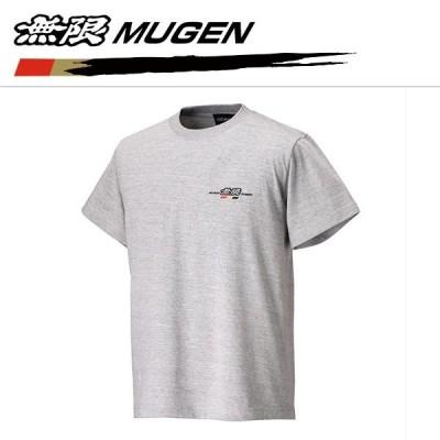 MUGEN 無限パワー Tシャツ グレー Sサイズ