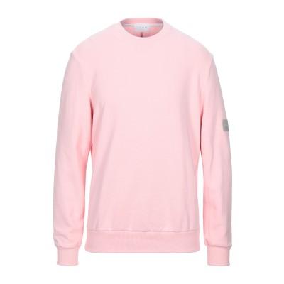 LOW BRAND スウェットシャツ ピンク 3 コットン 100% スウェットシャツ