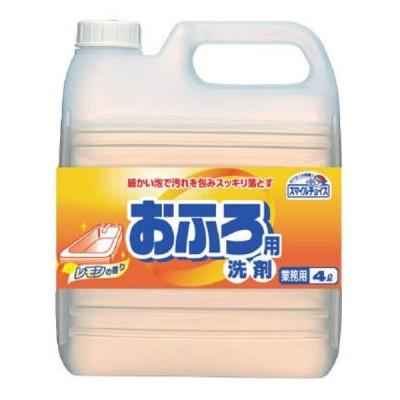 【1個】スマイルチョイス おふろ用 洗剤  4L×1個入