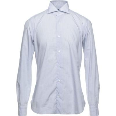 バルバ BARBA Napoli メンズ シャツ トップス Patterned Shirt White