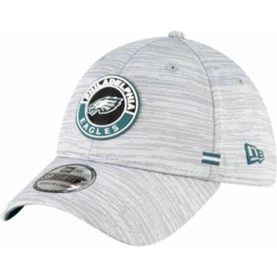 ニューエラ メンズ 帽子 アクセサリー New Era Men's Philadelphia Eagles Sideline Road 39Thirty Stretch Fit Hat