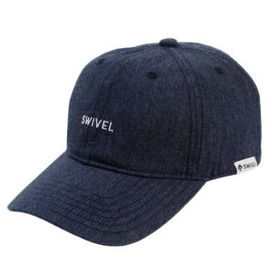 Swivelトレッキングデニム キャップ 898SW9ST1527 NVYネイビー