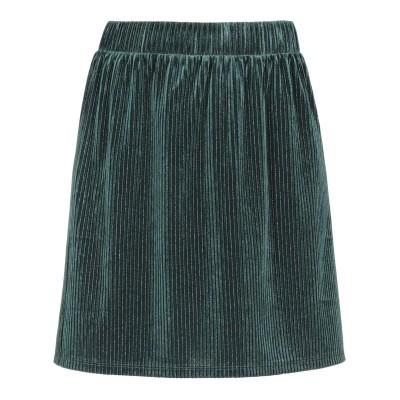 DES PETITS HAUTS ひざ丈スカート グリーン 0 ポリエステル 86% / ポリウレタン 12% / Lurex® 2% ひざ丈スカート