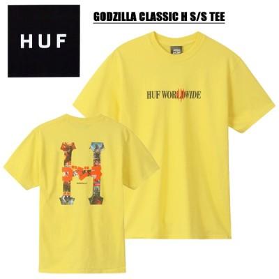ハフ(HUF) GODZILLA CLASSIC H S/S TEE 半袖Tシャツ/男性用/メンズ /ゆうパケット送料無料【12】[AA-2]