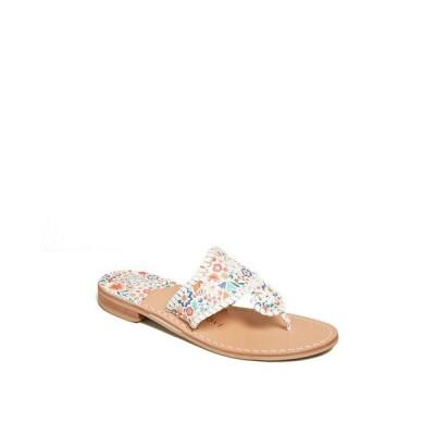 ジャックロジャース レディース サンダル シューズ Jacks Icon Floral Flat Sandals