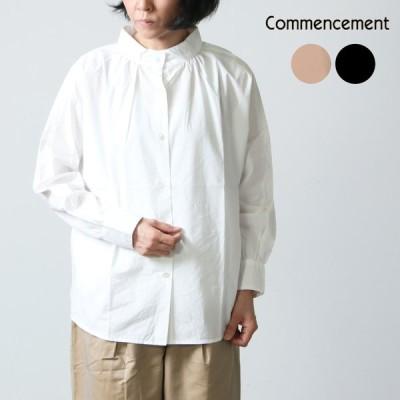 【30% OFF】Commencement (コメンスメント) Stand dolman shirts / スタンドドルマンシャツ