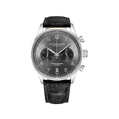 メンズ アクセサリー 時計 Stuhrling Original Men's Monaco Watch