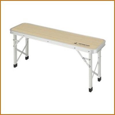 ジャストサイズ ベンチテーブル 86×24cm UC-0540 ▼キャンプをもっと快適に
