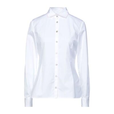 BARBA Napoli シャツ ホワイト 40 コットン 100% シャツ