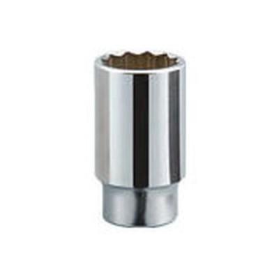 KTC 19.0sq.ディープソケット(十二角)/B4519_2285 対辺寸法:19mm