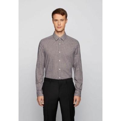 ボス シャツ メンズ トップス Shirt - dark blue