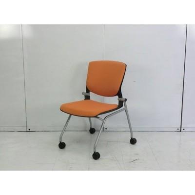 67527カートチェア オカムラ グラータ 幅:550 奥行:600 高さ:840 カラー:オレンジ