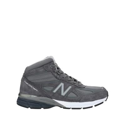 ニュー・バランス NEW BALANCE スニーカー&テニスシューズ(ハイカット) 鉛色 8 革 / 紡績繊維 スニーカー&テニスシューズ(ハイカッ