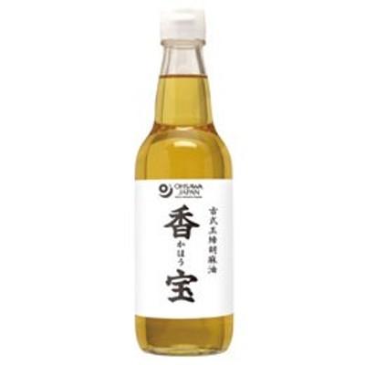 古式玉締胡麻油 香宝・ビン(330g)【オーサワジャパン】