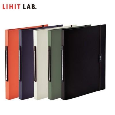 【全5色・A4-S】リヒトラブ/SMART FIT パンチレスファイル<HEAVY DUTY>(F-7550) 収容枚数160枚 LIHIT LAB.