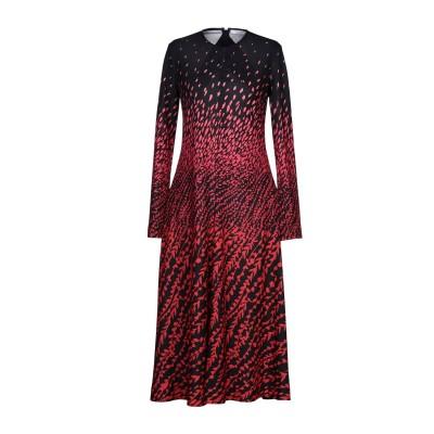 ジバンシィ GIVENCHY 7分丈ワンピース・ドレス ブラック 34 ポリエステル 100% 7分丈ワンピース・ドレス