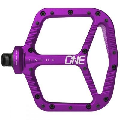 ワンナップ OneUp Components ユニセックス 自転車 ペダル Aluminum Pedal Purple