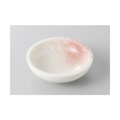 小皿 ピンク吹き25皿 [7.8 x 2.5cm]  料亭 旅館 和食器 飲食店 業務用