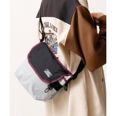 ショルダーバッグ バッグ 【MEI】ワンポイントロゴ ミニメッセンジャーバッグ ショルダーバッグ