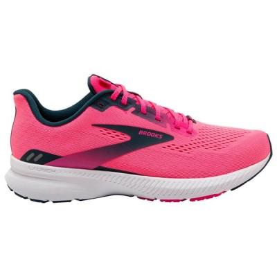 ブルックス Brooks レディース ランニング・ウォーキング シューズ・靴 Launch 8 Pink/Raspberry/Navy