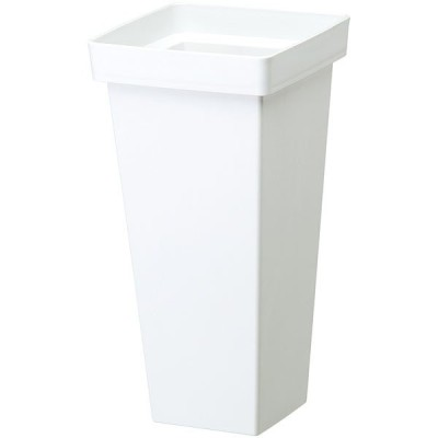 花桶 プラスチック製 ホワイト 180型 2個セット 全高35cm×口18cm(フラワーベース 花器 什器 業務用 店舗用)